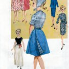 "RETRO C.1963  BARBIE BUTTERICK 6965 11.5"" DOLL SEWING PATTERN UNCUT"