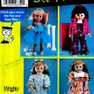 "18"" DOLL SEWING 4 DUMMIES PATTERN  AMERICAN GIRL SIMPLICITY 5670 UNCUT MINT"