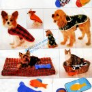 MINT OOP PET BEDS, COATS, TOYS PLACEMATS PATTERNS BUTTERICK 4226 XMAS STOCKINGS