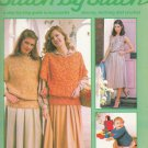 STITCH BY STITCH PART 4 SEWING CROCHET KNITTING CRAFTS VINTAGE MAGAZINE