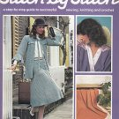 STITCH BY STITCH Part 32 SEWING CROCHET KNITTING CRAFTS VINTAGE MAGAZINE