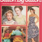 STITCH BY STITCH Part 34 SEWING CROCHET KNITTING CRAFTS VINTAGE MAGAZINE