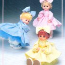 DOLL COLLECTION 13 SEWING PATTERNS 4 DOLLS + DOLL LAMP & SHADE! TAURUS COLLECTOR