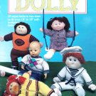 MCCALL'S KNIT IT FOR DOLLY DOLL SOFT SCULPT CPK COAT HAT DRESS SAILORSUIT JOGGER
