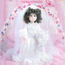 "WEDDING DAY CROCHET 14"" DOLL CLOTHES PATTERN 8405 AMERICAN SCHOOL NEEDLEWORK"
