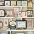 46 MINIATURE SAYINGS CROSS STITCH CUTE - FUNNY SHORT & SASSY LEISURE ARTS #548