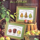 CROSS STITCH MAGAZINE CLOCK PEARS APPLES GARDEN FLOWERS DUCK CAROUSEL HORSE #18