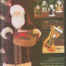 SANTA GREETER STOCKING ORNAMENTS VOGUE 8735 UNCUT