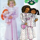 CABBAGE PATCH DOLL + CHILD MATCHING SIZE 6-7-8 PATTERN BUTTERICK 4012 UNCUT