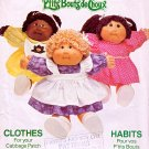 CABBAGE PATCH KIDS DOLL PATTERN + TRANSFERS BUTTERICK 6509 PATTERN OOP 1984