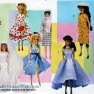 BARBIE DOLL VINTAGE COLLECTION COAT SUIT WEDDING + PATTERN McCALL 9664 UNCUT