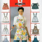APRONS - 8 GREAT LOOKS! MCCALLS 2947 MISSES SEWING PATTERN