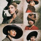 FASCINATOR HATS CREATE YOUR OWN! ALL THE RAGE VOGUE 7464 OOP PATTERN UNCUT