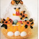 GIFT BASKETS *EASTER HEN BABY SANTA DALMATION SNOWMAN + MCCALLS 7641 PATTERN