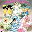 DELECTABLE COLLECTABLES* FIBRE CRAFT CROCHET SMALL DOLL CLOTHES PATTERNS VINTAGE