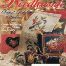 MCCALLS NEEDLEWORK CHRISTMAS 1994 ORNAMENTS + CROSS STITCH QUILT KNIT CROCHET