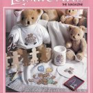 CROSS STITCH KNIT CROCHET ROSE AFGHAN WEDDING SAMPLER APRONS BABY LEISURE ARTS