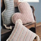 CROSS STITCH KNIT CROCHET BABY BIBS WEDDING EDGINGS VEST SAMPLER LEISURE ARTS