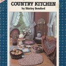 COUNTRY KITCHEN BRAID CRAFT BY SHIRLEY BOTSFORD CHAIR COVERS, BASKETS, TRIVETS +
