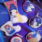 CROSS STITCH CHRISTMAS ORNAMENTS 29 HOLIDAY PATTERNS M 611