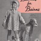 BEEHIVE FOR BAIRNS #50B VOL 3. SIZES 1, 11/2, 2 VINTAGE PATONS & BALDWIN CANADA