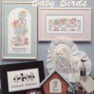 CROSS STITCH BABY BIRDS 4 BABIES AMERICAN SCHOOL OF NEEDLEWORK