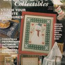 CROSS STITCH COLLECTIBLES CHRISTMAS COLONIAL AMERICANA STOCKING PUMPKINS RUNNERS KITCHEN