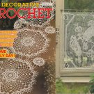DECORATIVE CROCHET 1990 BEDSPREADS, CURTAINS, MATS, TABLECLOTHS, RUNNERS + #15