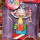 *BOOTS MONKEY CHRISTMAS ORNAMENT DORA EXPLORER MINT IN BOX. NICK JR.