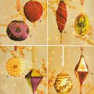 CHRISTMAS BEADED ORNAMENTS VOGUE 7788 PATTERN OOP MINT UNCUT