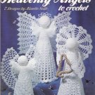 HEAVENLY ANGELS TO CROCHET 7 ANGELS CHRISTMAS NANETTE SEALE LEISURE ARTS 1471