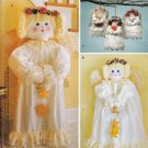 ANGELS LARGE & SMALL! ORNAMENTS - DECORATIONS MCCALLS 2992 SEWING PATTERN