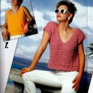 BEEHIVE PATONS #469 BRIGHT & BEAUTIFUL KNIT SUMMER COTTON TOPS!