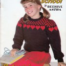 OFF TO SCHOOL GIRL BOY KNIT CROCHET SWEATERS CARDIGANS VESTS BEEHIVE PATONS 456