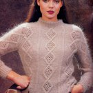 PATONS PROMISE #445 DESIGNS TO KNIT VESTS FAMILY SWEATERS ARAN CARDIGANS LACY