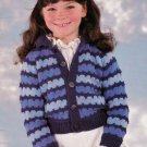 GREAT IDEAS! FOR KIDS PATONS BEEHIVE #442 CARDIGAN PULLOVER HOODIE JACKET HAT