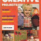 CREATIVE MON TRICOT #10 GIFTS! TOYS DOLLS MACRAME KNIT CROCHET WEAVE EMBROIDER