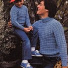 KNIT YOUR MAN! GRANDSON TO GRANDAD BEEHIVE #432 CARDIGANS VESTS PULLOVERS ARAN
