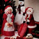 THANKSGIVING HALLOWEEN CHRISTMAS DOLLS DECORATIONS MCCALL 4530 PATTERN OOP MINT