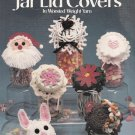 CROCHET HOLIDAY JAR LID COVERS CHRISTMAS EASTER HALLOWEEN THANKSGIVING LEISURE ARTS 810