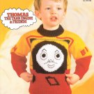 "THOMAS TANK ENGINE & FRIENDS BEN & BILL 20 - 26"" SWEATER ROBIN 240 DK"