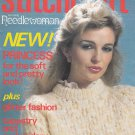 STITCHCRAFT # 580 NEEDLEWORK CROCHET KNIT EMBROIDER APRIL 1982 VINTAGE MAGAZINE