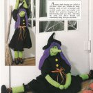 CROSS STITCH SCOTTY SWEATER SANTA WITCH RABBITS LACY AFGHAN LEISURE ARTS OCT '92