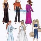 """11.5"""" BARBIE COMPLETE WARDROBE DRESSES PANTS TOP+  DOLL PATTERN MCCALLS 4064 OOP"""