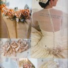 BRIDAL WEDDING EVENING ROSE ACCENTS VOGUE 7009 SEWING PATTERN