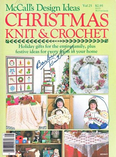 MCCALLS CHRISTMAS KNIT CROCHET CPK BARBIE NUTCRACKER DOLL ORNAMENTS AFGHAN 1986