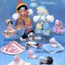 CROCHETED FAVORITES & ORIGINAL JESSIE ABULARACH *33 PROJECTS *DOLLS VOL 5