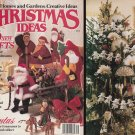 1987 CHRISTMAS IDEAS BH & G DOLLS SANTAS CROSS STITCH CREWEL SEW KNIT EMBROIDER+