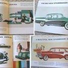 56 Studebaker sales brochure NICE full color!
