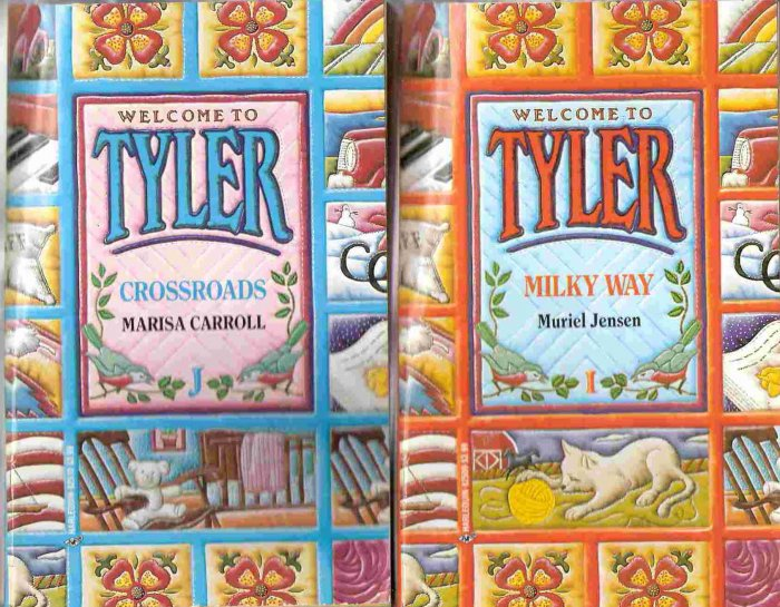 Welcome to Tyler 14 Book Lot Romance